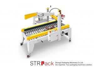 自動粘着テープは折りたたみの場合のカートン箱のシーラー機械を折り返します