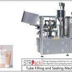 SFS-100プラスチックチューブ充填およびシール機
