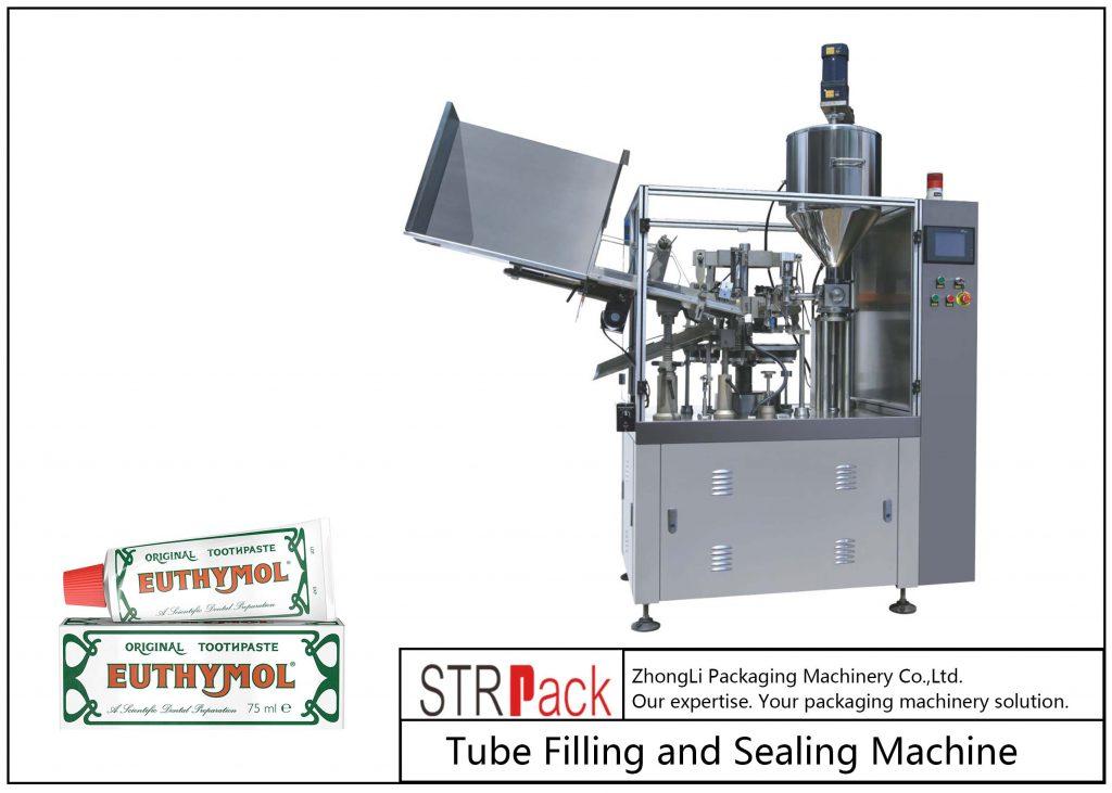 SFS-60Z金属管充填およびシール機